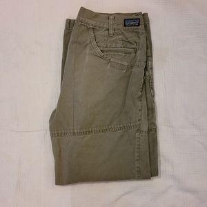 olive Patagonia pants